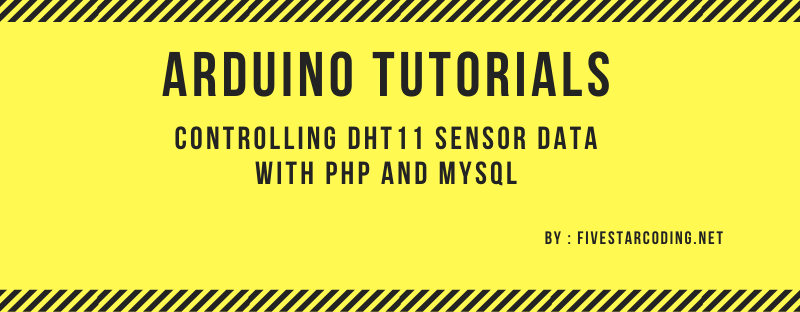 Controlling DHT11 Sensor Data with PHP and MySQL