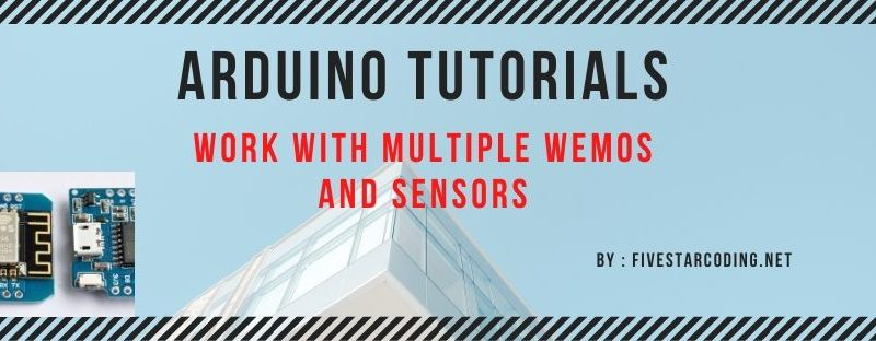 Work with Multiple WeMos and Sensors